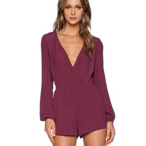Lovers + Friends Monday to Friday Romper